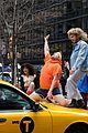 zac efron zendaya and hugh jackman join james corden in epic crosswalk musical 08