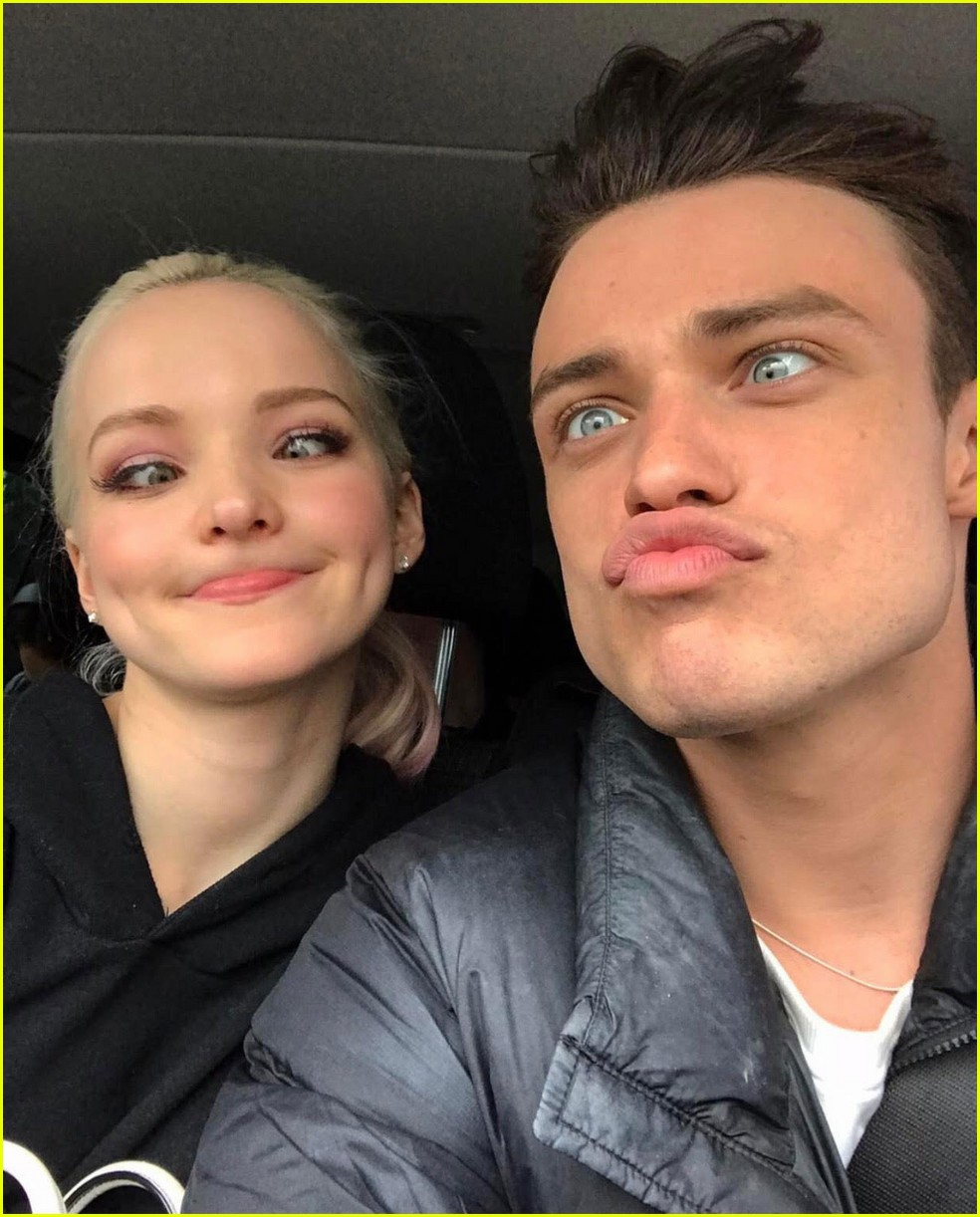 dove cameron thomas doherty celebrate one year anniversary 03