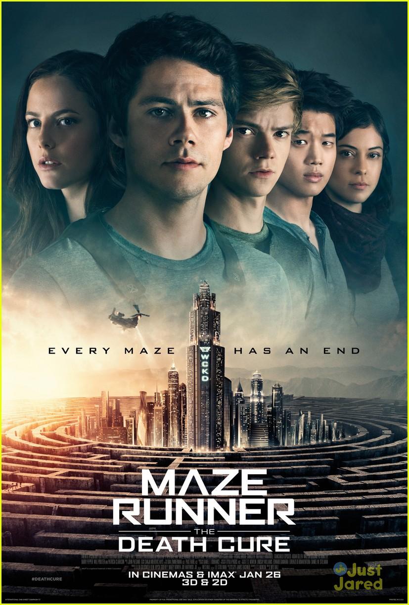 dylan obrien brazil arrival maze runner poster 03