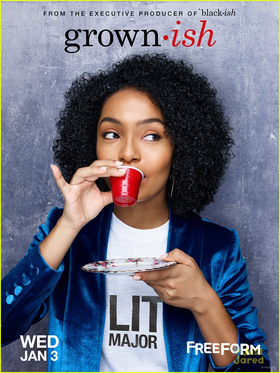 yara shahidi francia raisa grownish based meme 06