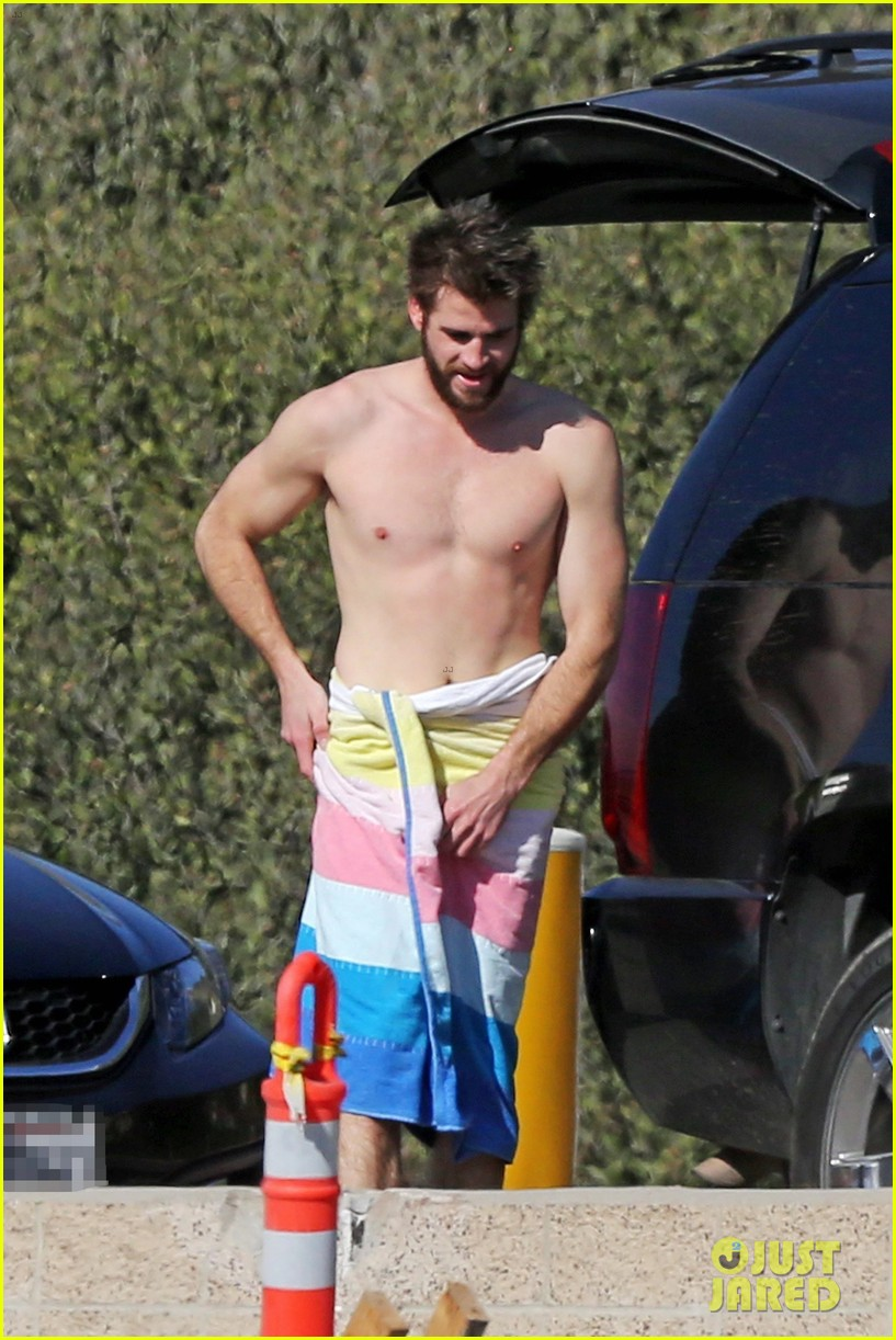 liam hemsworth gets shirtless after surfing in malibu see pics 01