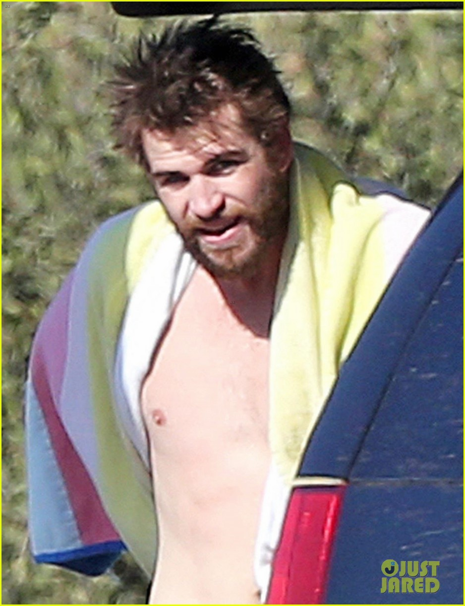 liam hemsworth gets shirtless after surfing in malibu see pics 06