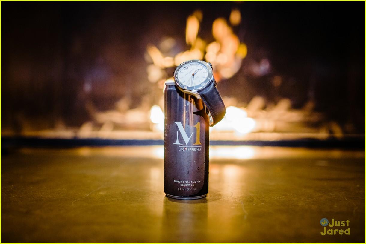 david henrie gregg brandon m1 enerry drink launch 01