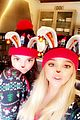 pregnant kylie jenner joins her family on christmas morning 08
