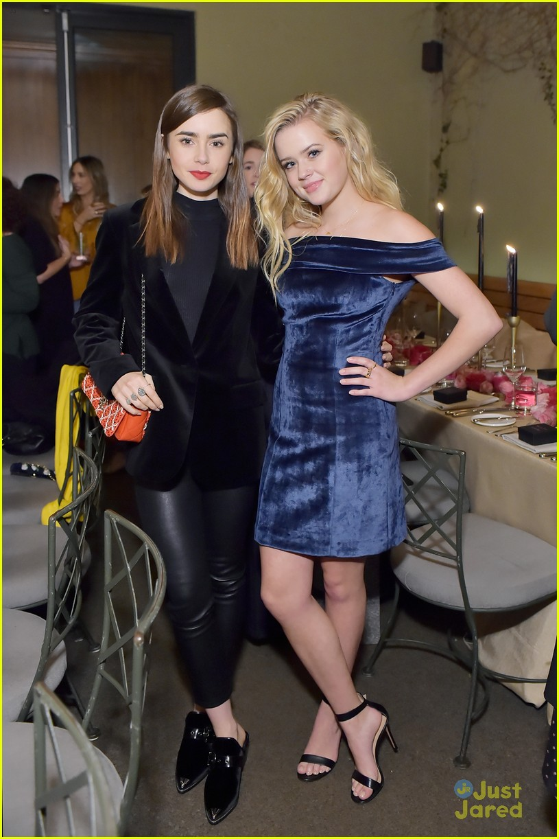 lily collins ava phillippe sarah chloe jewelry launch 16