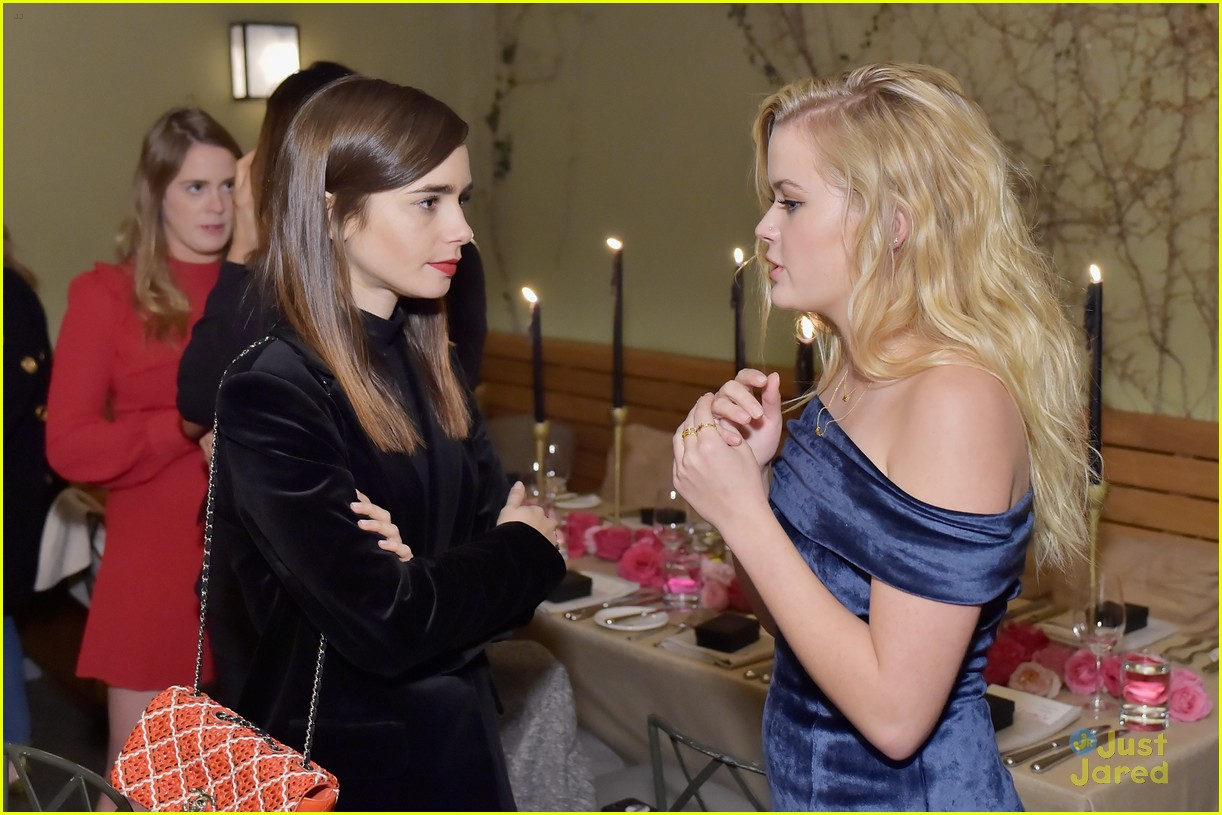 lily collins ava phillippe sarah chloe jewelry launch 17