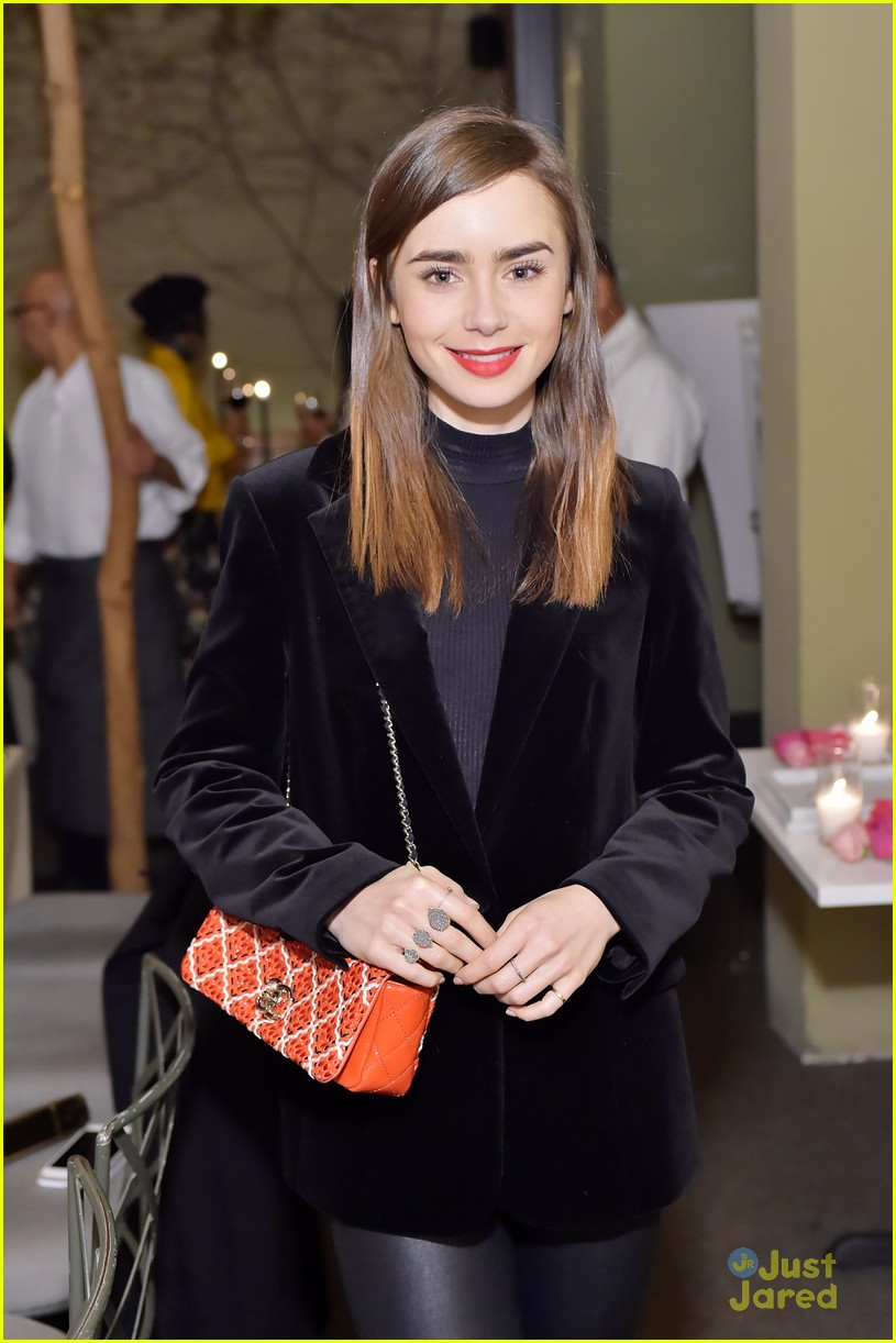 lily collins ava phillippe sarah chloe jewelry launch 21