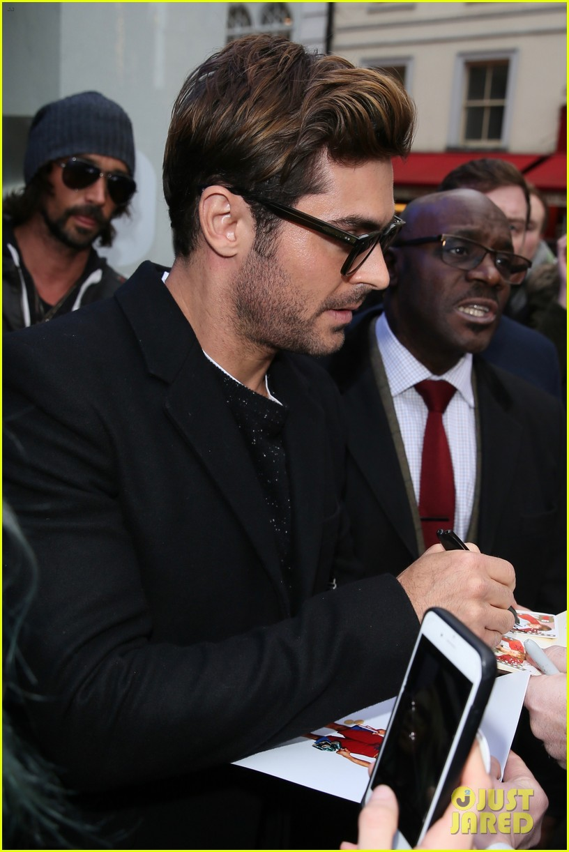 zac efron zendaya greatest showman press tour london 45