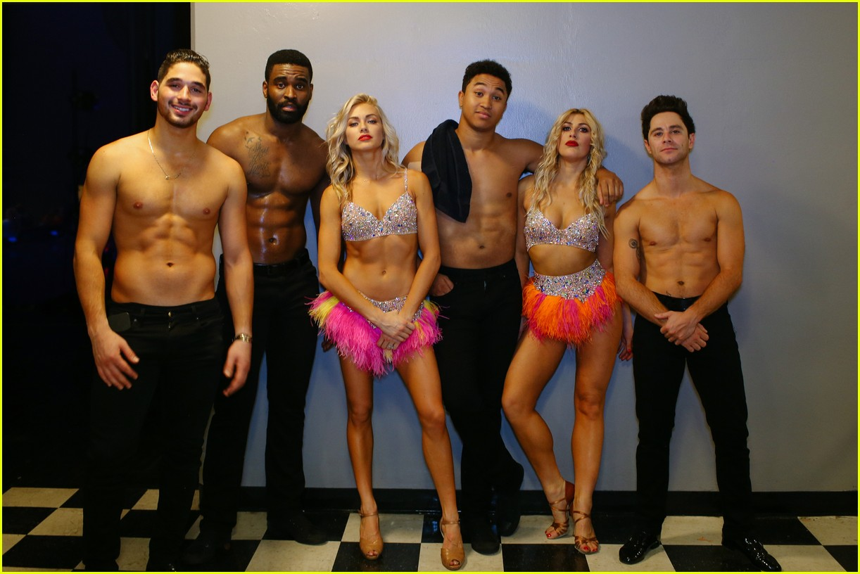 dwts light up night tour pics 44