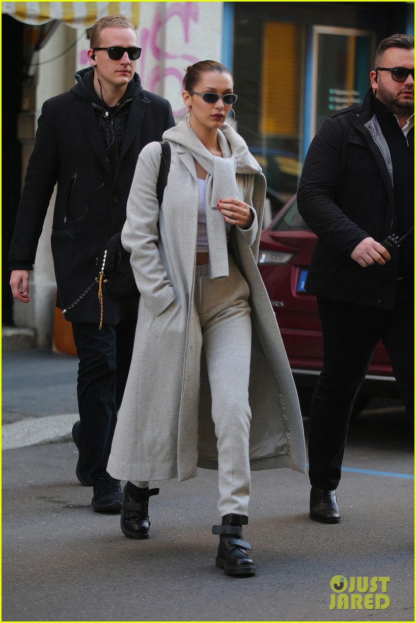 gigi bella hadid step out on separates sides of the world 10