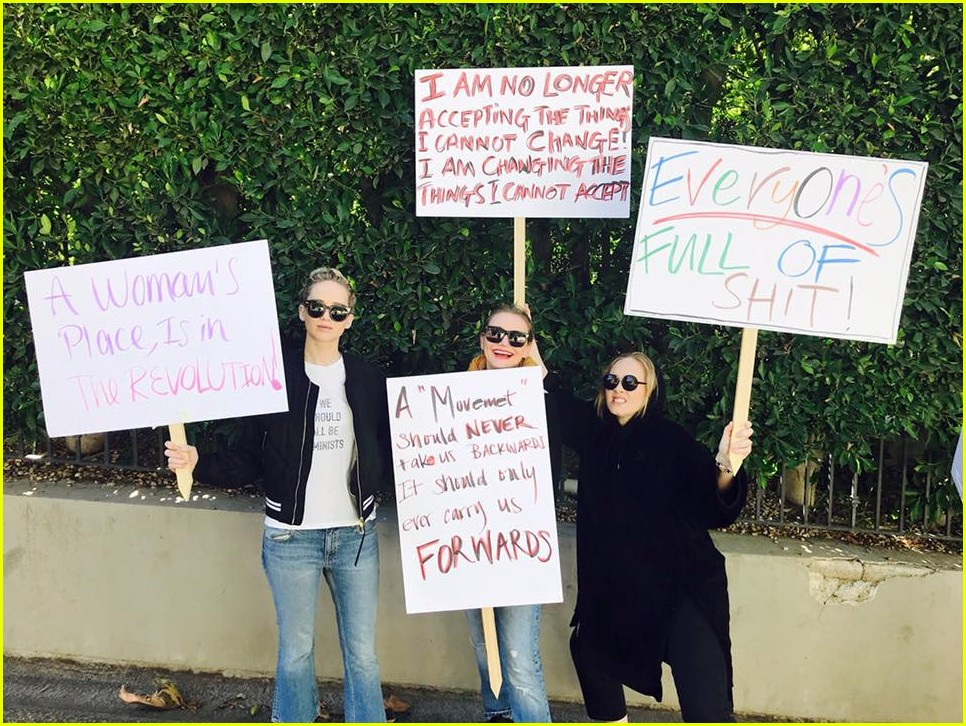 jennifer lawrence cameron diaz adele womens march 01