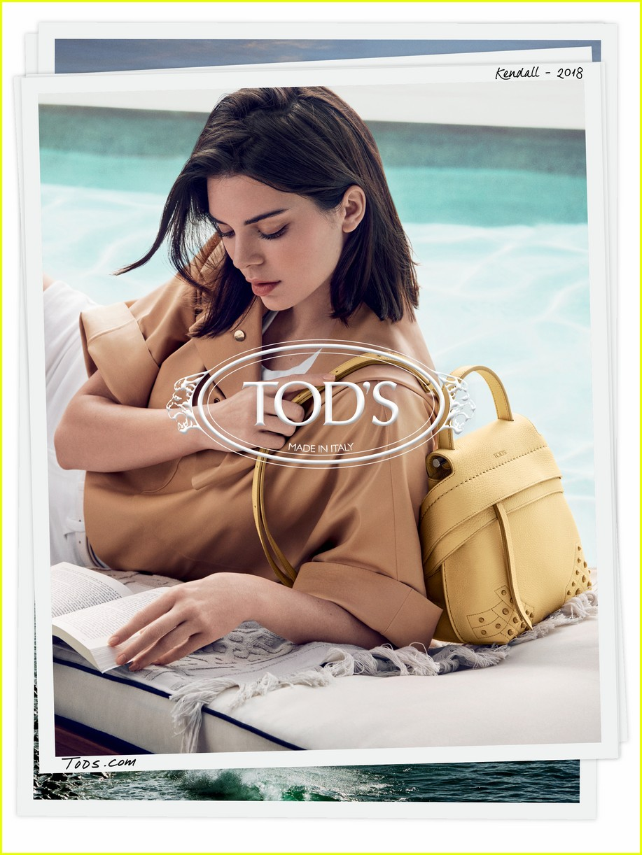 kendall jenner face of tods spring 2018 campaign 05