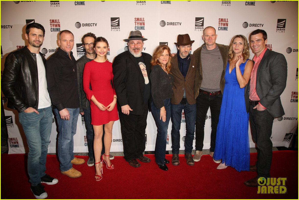 james lafferty and stefanie scott team up for small town crime screening 04