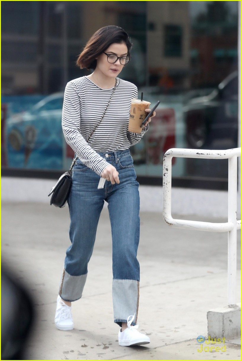 lucy hale minnie mouse coach lunch coffee la 04