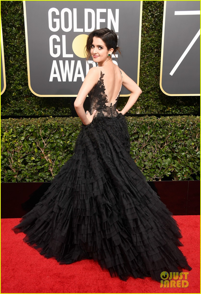 laura marano is ready to host golden globes red carpet 01