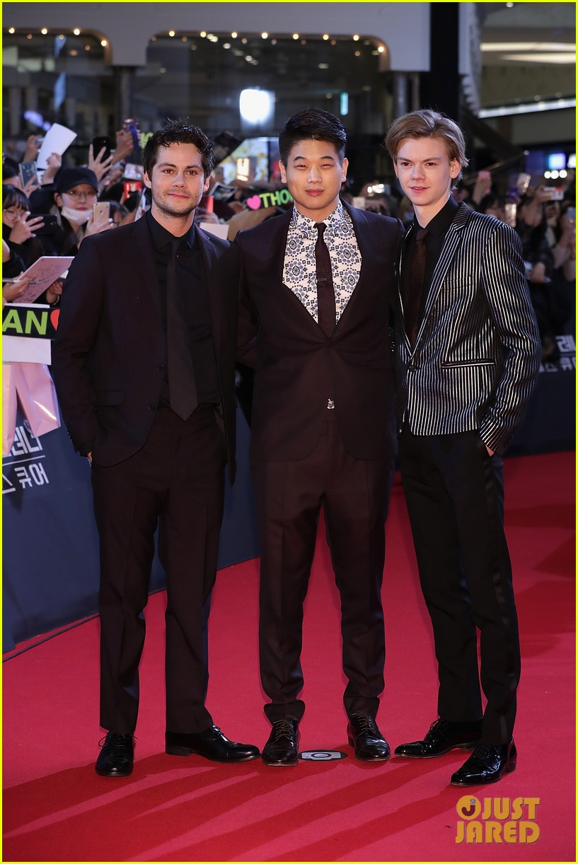 maze runner korea premiere events dylan thomas ki 04