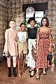 camila mendes and katherine langford are black and white beauties at w mags it girls luncheon 02