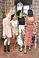 camila mendes and katherine langford are black and white beauties at w mags it girls luncheon 23