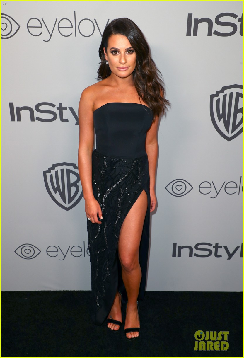 lea michele nikki reed and sarah hyland show some skin at golden globes after party 01