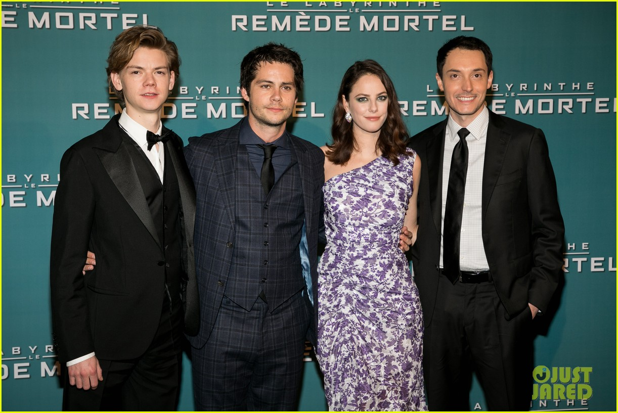 dylan obrien and co stars bring maze runner to paris 02