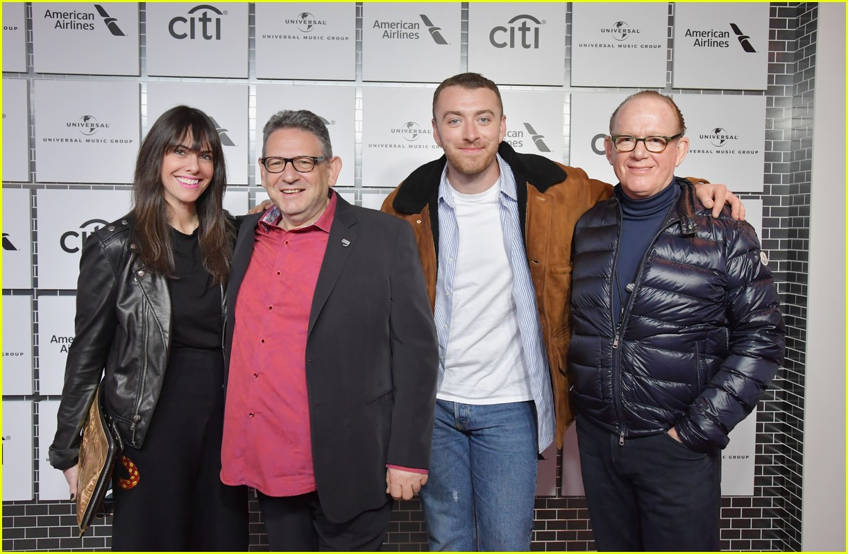 sam smith kacey musgraves attend lucian grainge pre grammys 18