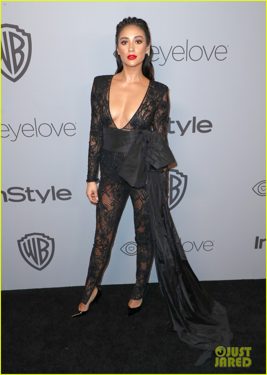 shay mitchell georgie flores instyle golden globes after party 09
