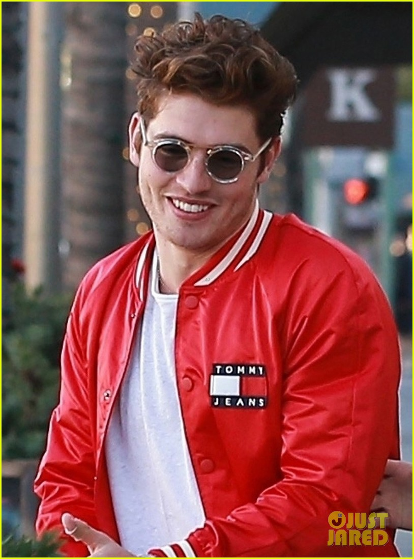 gregg sulkin hangs out with sistine stallone in beverly hills 04