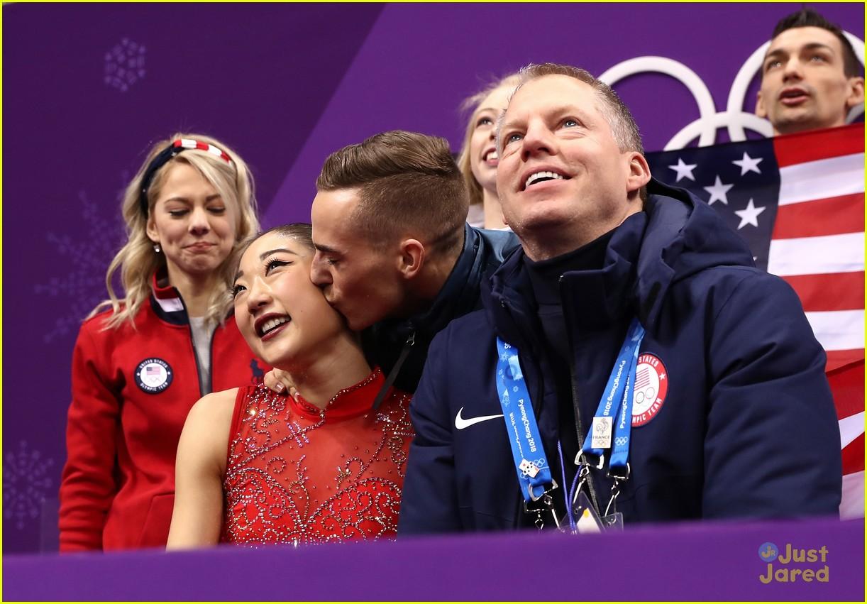 adam rippon mirai nagasu friendship story olympics 01