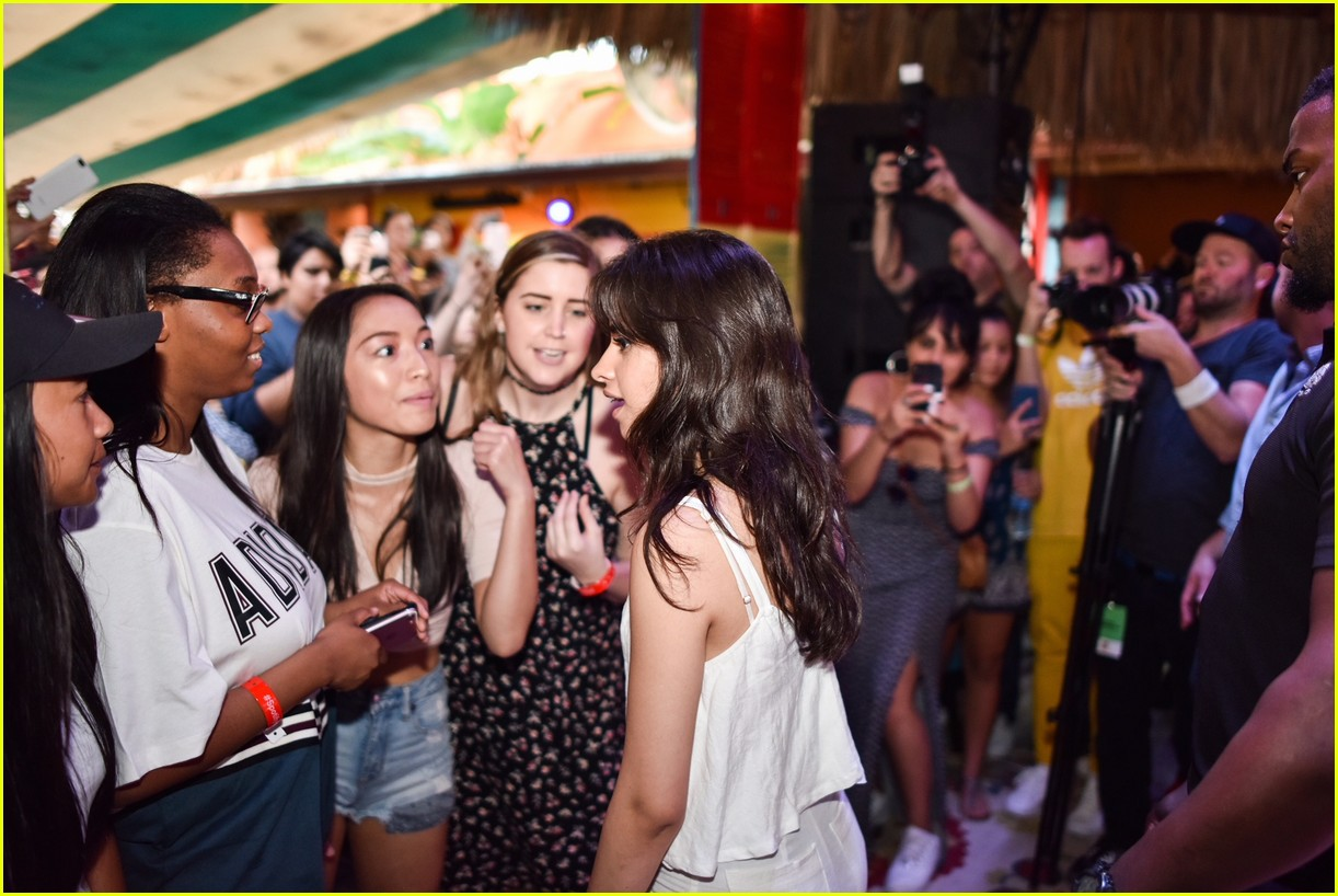camila cabello spotify fan event february 2018 02