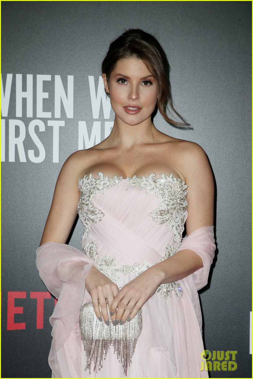 amanda cerny joins king back at when we first met screening 05