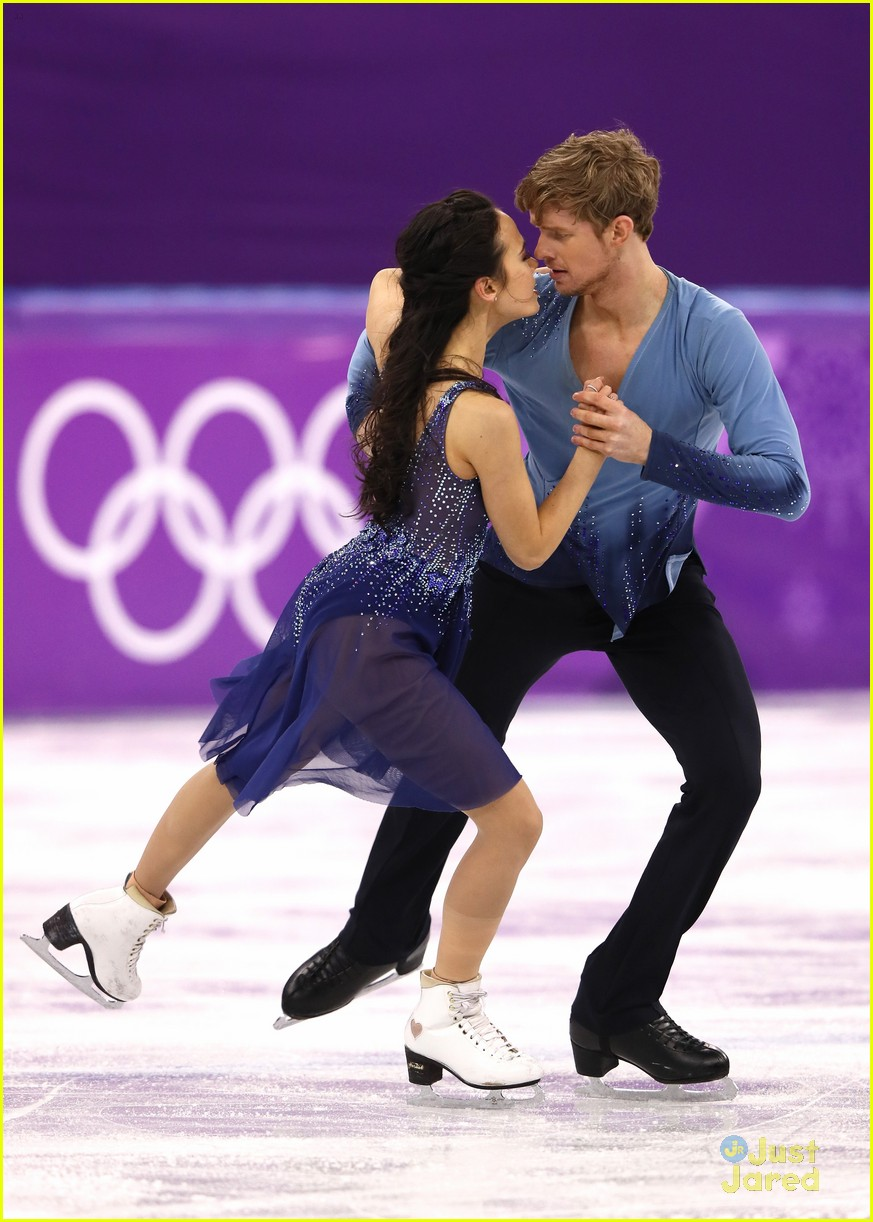 madison chock evan bates react fall olympics 04