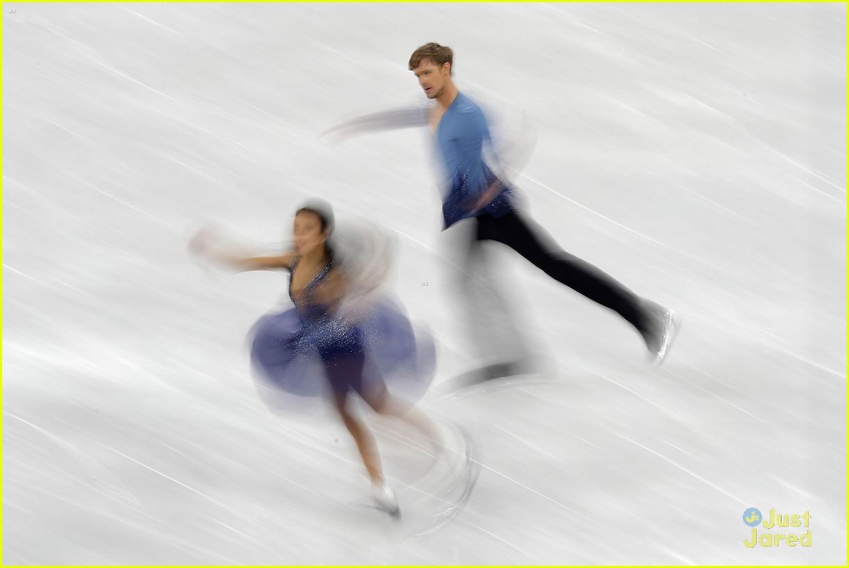 madison chock evan bates react fall olympics 08