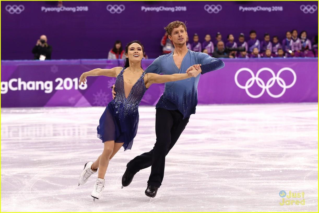 madison chock evan bates react fall olympics 10