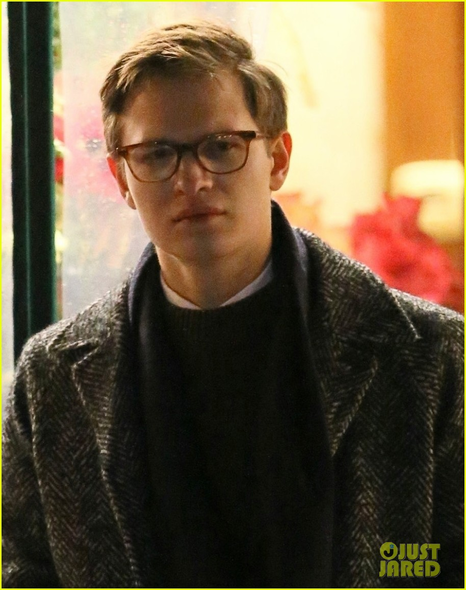 Ansel Elgort With Glasses