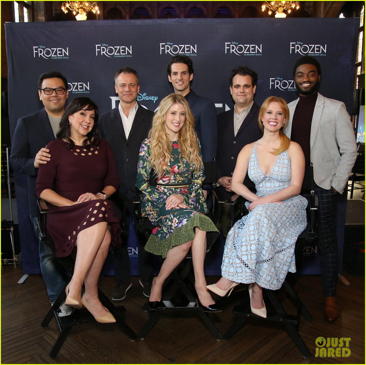 frozen cast meets the press ahead of broadway debut 01