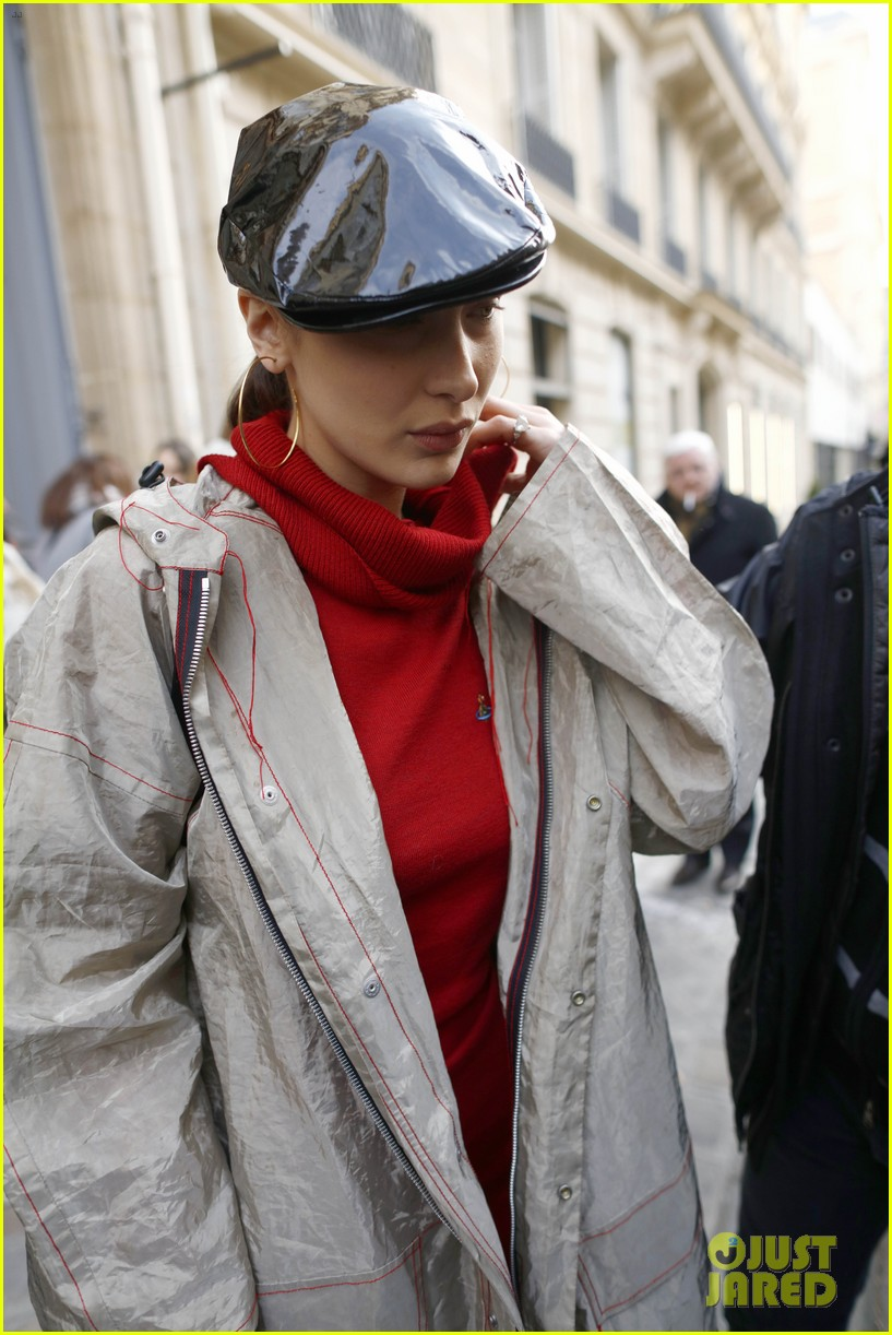 gigi bella hadid out about in paris 13