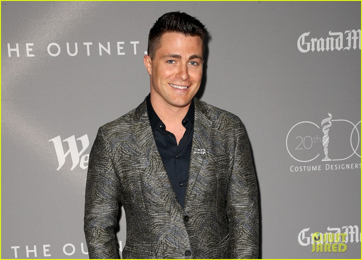 gina rodriguez colton haynes sarah hyland step out in style for costume designer awards 20