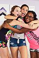 mackenzie ziegler designs spring clothing line with justice 03