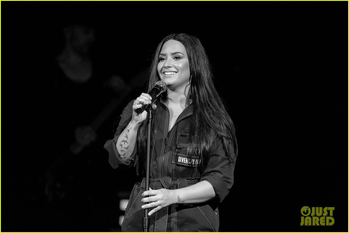 demi lovato has written songs with john mayer reveals advice he gave her 18