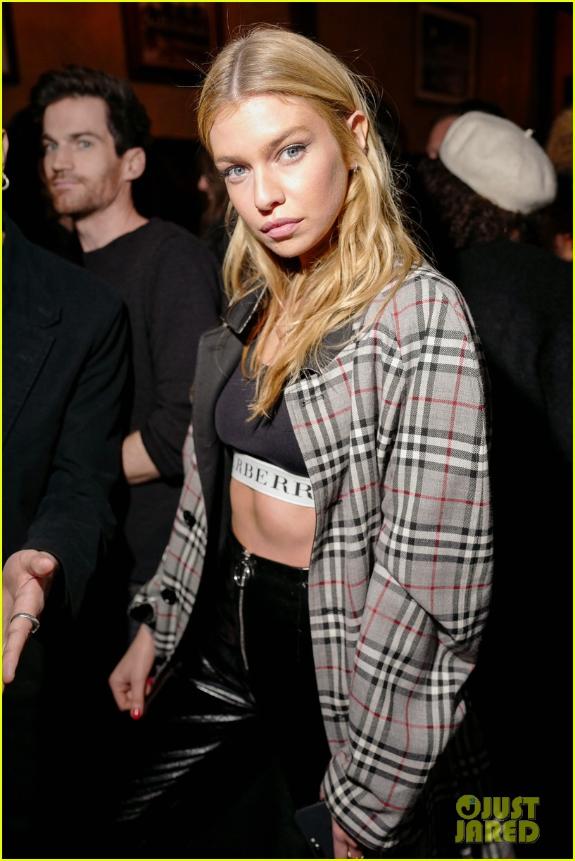 bill skarsgard stella maxwell stop by last magazine nyfw party 02