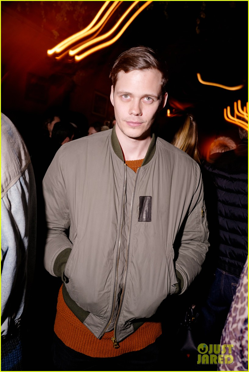 bill skarsgard stella maxwell stop by last magazine nyfw party 04