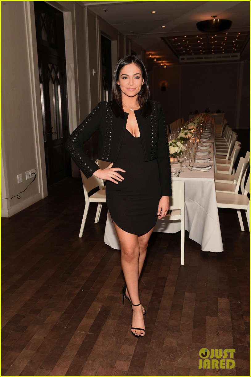 bethany mota is a beauty in black at simply nyc conference vip dinner 01
