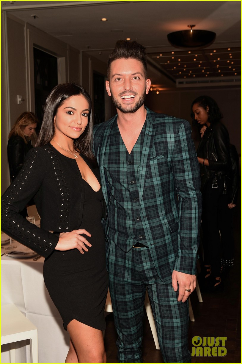 bethany mota is a beauty in black at simply nyc conference vip dinner 03