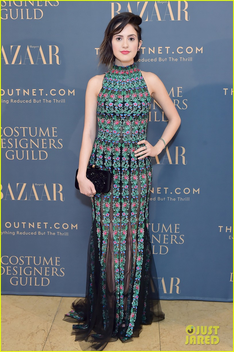 nikki reed nathalie emmanuel go chic for harper bazaar dinner 01