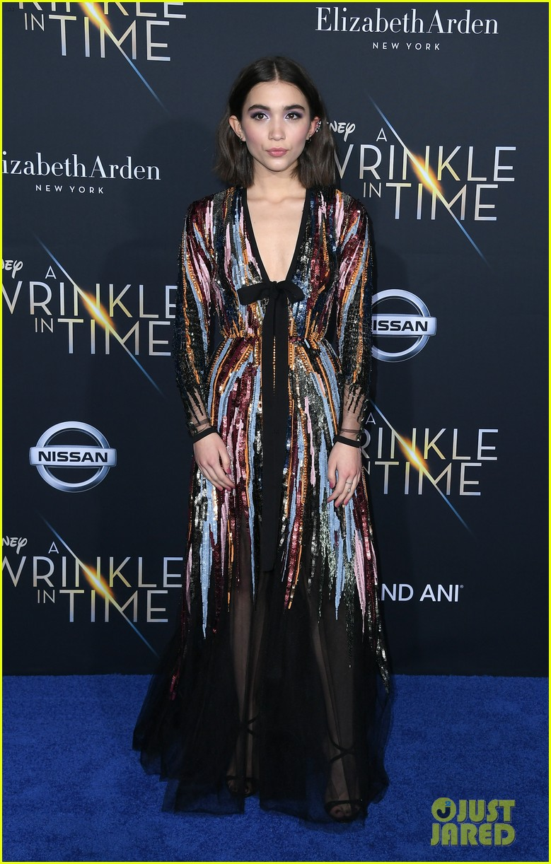 storm reid rowan blanchard and levi miller rock magical looks at a wrinkle in time premiere2 01