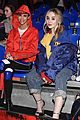 cameron dallas sabrina carpenter sit front row tommy hilfiger 01