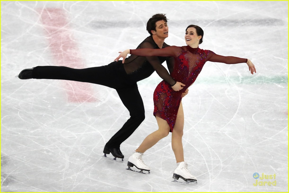 tessa virtue scott moir canada free program tone down 04