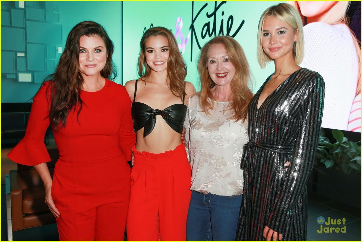 alexa katie cast comes out for premiere event 12