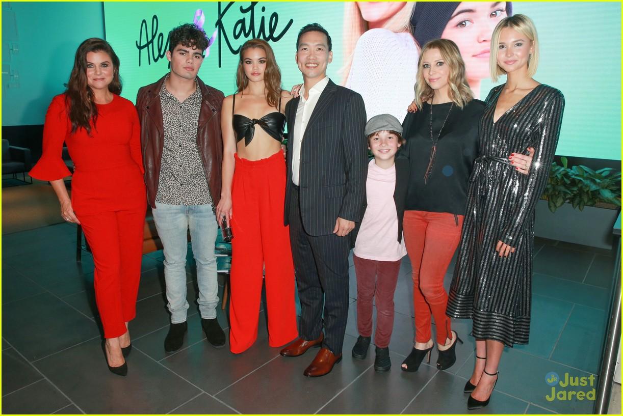 alexa katie cast comes out for premiere event 15