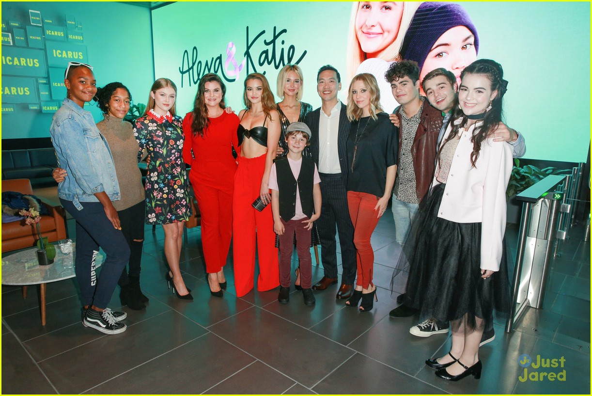 alexa katie cast comes out for premiere event 19